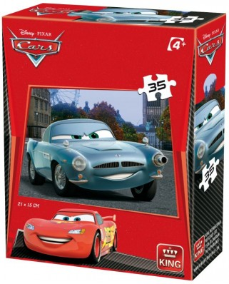 Puzzle King - Cars 3, 35 piese (05301-I)