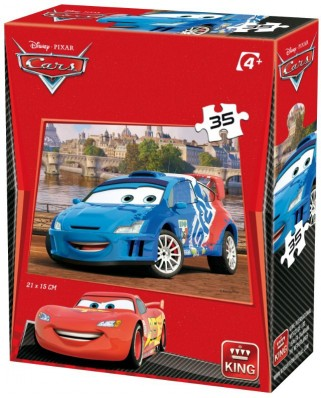 Puzzle King - Cars 3, 35 piese (05301-J)