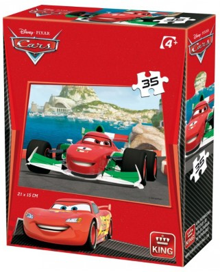 Puzzle King - Cars 3, 35 piese (05301-K)