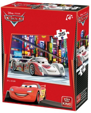 Puzzle King - Cars 3, 35 piese (05301-L)