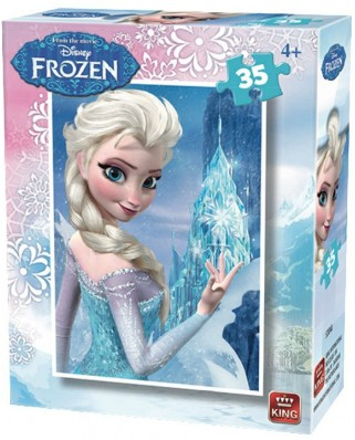 Puzzle King - Disney - Frozen, 35 piese (05304-A)