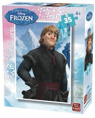Puzzle King - Disney - Frozen, 35 piese (05304-B)