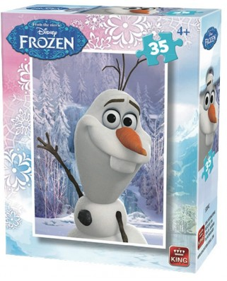 Puzzle King - Disney - Frozen, 35 piese (05304-C)