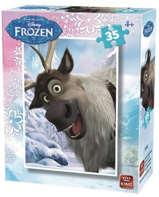 Puzzle King - Disney - Frozen, 35 piese (05304-D)