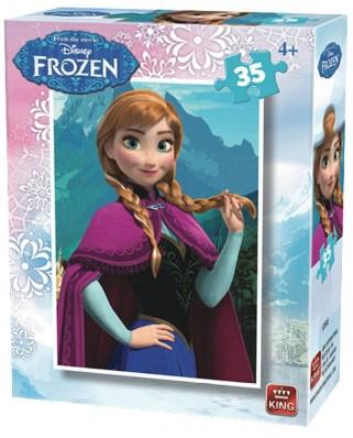 Puzzle King - Disney - Frozen, 35 piese (05304-E)