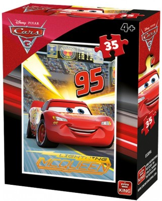 Puzzle King - Cars 3, 35 piese (05309-A)