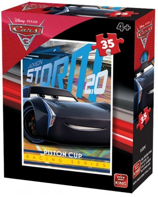 Puzzle King - Cars 3, 35 piese (05309-C)