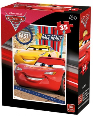 Puzzle King - Cars 3, 35 piese (05309-D)