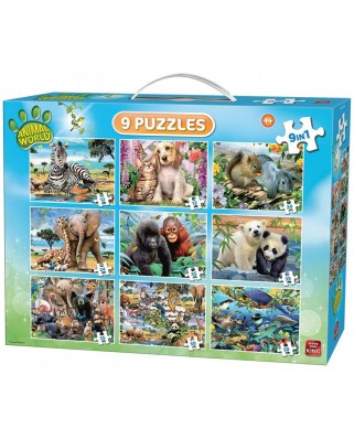 Puzzle King - Animal World, 12/24/35/50 piese (05327)