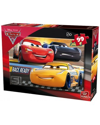 Puzzle King - Cars 3, 99 piese (05696-A)