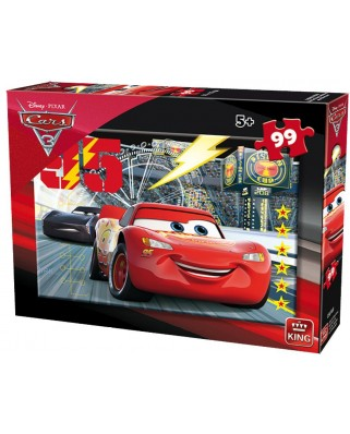 Puzzle King - Cars 3, 99 piese (05696-B)