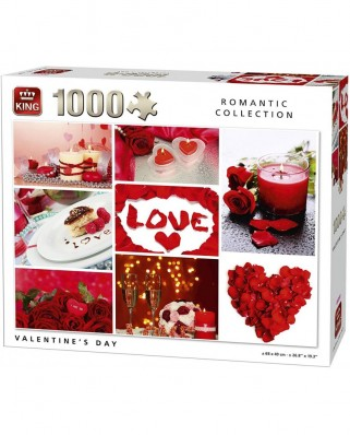 Puzzle King - Valentine's Day, 1.000 piese (05764)