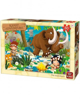 Puzzle King - The Mammoth, 50 piese (05791)