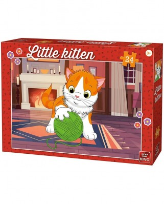 Puzzle King - Kitten, 24 piese (05796)