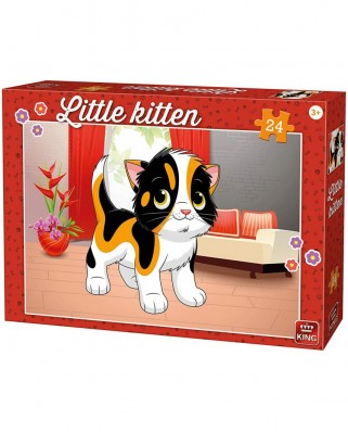 Puzzle King - Kitten, 24 piese (05797)