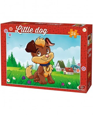 Puzzle King - Little Dog, 24 piese (05798)