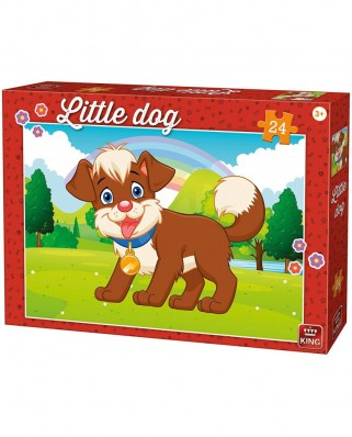 Puzzle King - Little Dog, 24 piese (05799)