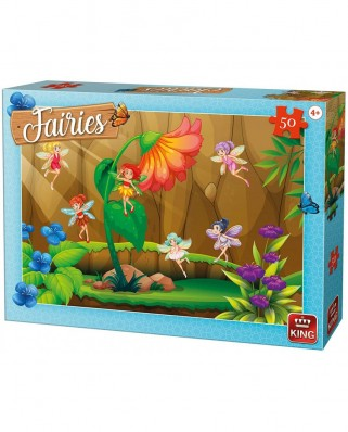 Puzzle King - Fairies, 50 piese (05803)
