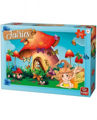 Puzzle King - Fairies, 50 piese (05805)