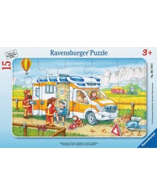 Puzzle Ravensburger - Ambulance, 15 piese (06170)