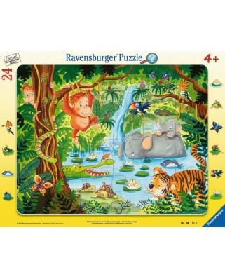 Puzzle Ravensburger - Jungle, 24 piese (06171)