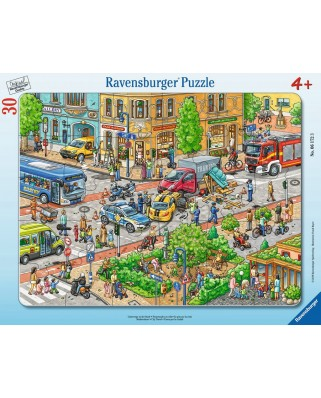 Puzzle Ravensburger - City Travel, 30 piese (06172)