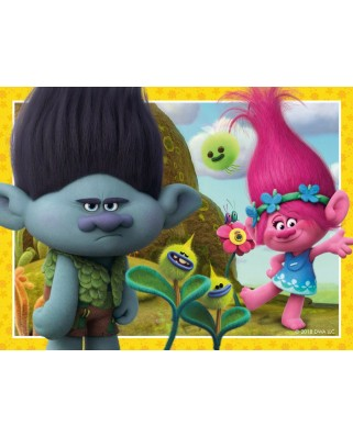 Puzzle Ravensburger - Trolls, 12/16/20/24 piese (06972)
