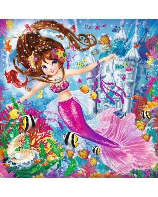 Puzzle Ravensburger - Mermaids, 3x49 piese (08063)