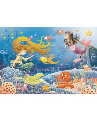 Puzzle Ravensburger - Underwater Stories, 60 piese (09638)