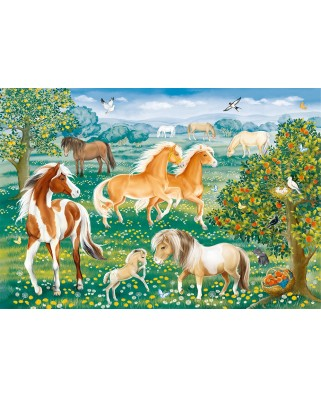 Puzzle Ravensburger - Mustang, 60 piese (09639)
