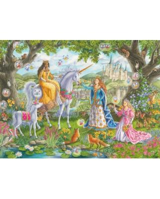 Puzzle Ravensburger - Princesses, 100 piese XXL (10402)