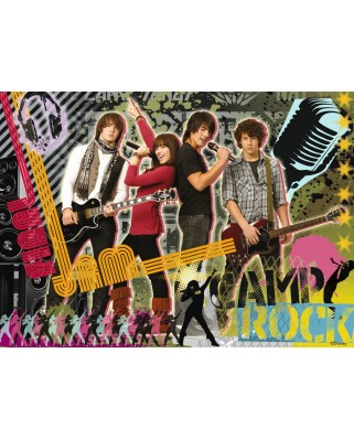 Puzzle Ravensburger - Camp Rock, 100 piese XXL (10775)
