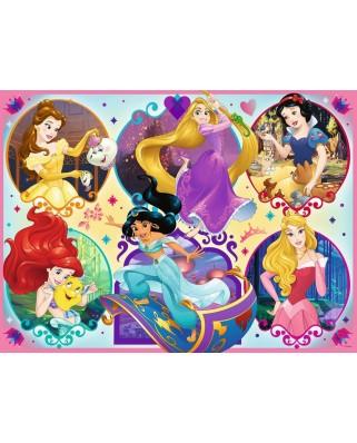 Puzzle Ravensburger - Disney Princess, 100 piese XXL (10796)