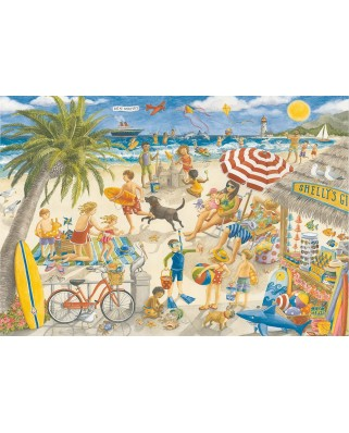 Puzzle Ravensburger - Sunshine at Shelly's, 100 piese XXL (10842)