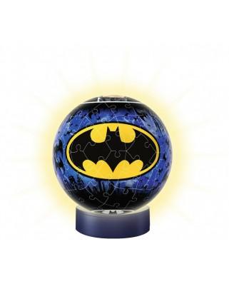 Puzzle glob Ravensburger - Night Edition - Batman, 72 piese (11080)