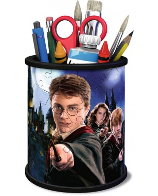 Puzzle 3D Ravensburger - Pencil Cup - Harry Potter, 54 piese (11154)