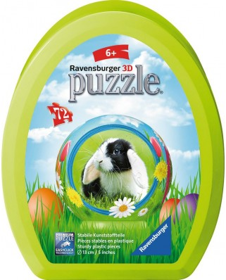 Puzzle 3D Ravensburger - Easter Eggs, 72 piese (11762)
