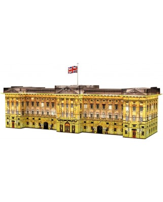 Puzzle 3D Ravensburger - Buckingham Palace by Night, 216 piese (12529)