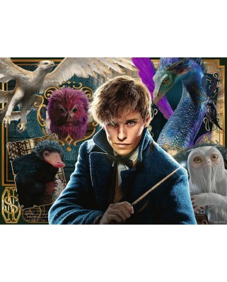 Puzzle Ravensburger - Fantastic Beasts, 200 piese XXL (12611)