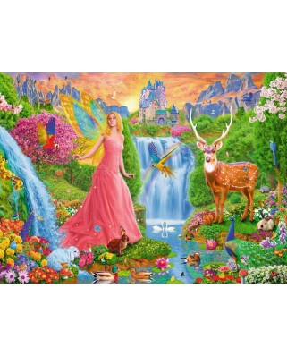 Puzzle Ravensburger - Magic Fairy Charm, 200 piese XXL (12624)