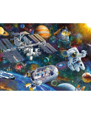 Puzzle Ravensburger - International Space Station, 200 piese XXL (12692)