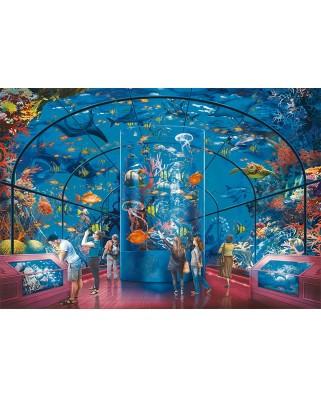 Puzzle Ravensburger - Aquarium, 200 piese XXL (12758)