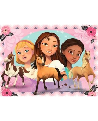 Puzzle Ravensburger - DreamWorks - Spirit Riding Free, 200 piese XXL (12772)