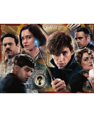 Puzzle Ravensburger - Fantastic Beasts, 300 piese XXL (13254)