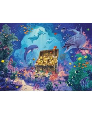 Puzzle Ravensburger - Deep Sea Treasure, 300 piese XXL (13255)