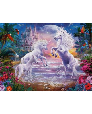 Puzzle Ravensburger - The Paradise of the Unicorns, 300 piese XXL (13256)