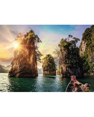 Puzzle Ravensburger - Nature Edition No 15 - Three Rocks in Cheow, Thailand, 1.000 piese (13968)