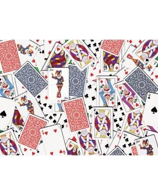 Puzzle Ravensburger - Cards, 500 piese dificile (14800)
