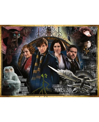 Puzzle Ravensburger - Fantastic Beasts, 500 piese (14820)