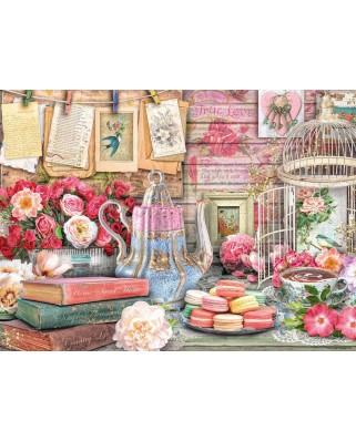 Puzzle Ravensburger - Vintage Tea Party, 500 piese (14838)